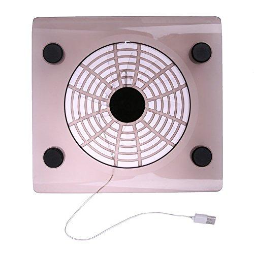 2 LED Fan USB Notebook Laptop Stand Rack Cooling Cooler Base Pad - 5