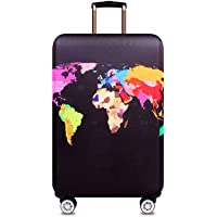 Useful Multifunction Spandex Travel Luggage Cover Suitcase Protector Bag Travel Luggage Cover Fit for 18-28 Inch Luggage