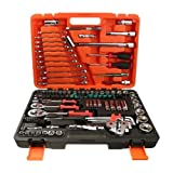 Moon Daughter 121 Pcs Socket Wrench Screwdriver Ratchet Tool Set for Home Auto Repairing US