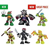 Teenage Mutant Ninja Turtles Half-Shell Hero Figure - 6 Pack