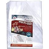 Envelopes Polietileno Finos SF para Embalagem, DAC, Envelopes Polietileno Finos Sf Para Embalagem 25X35 Pacote 100 25356, Transparente, 25 x 35, pacote de 100