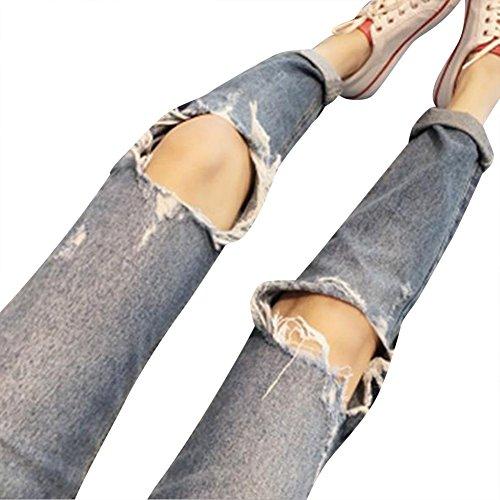 Ginocchio Sciolto Jeans Donne Immagine Come Del Foro Pantaloni XAvn4xwqp