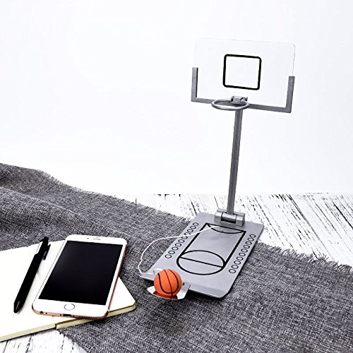 Fengirl Creative Funny Desktop Miniature Basketball Game Toy, Fun Sports Novelty Toy Gag Gift Idea (Gray) by Fengirl (Image #4)
