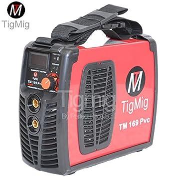 tigmig Welding Inverter TM 169 170 PVC Amp MMA Electrode PVC resistente accesorios Completo: Amazon.es: Bricolaje y herramientas