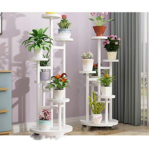 YONGYONG Flower Shelf Removable Design Multi-Layer Indoor Flower Table Living Room Space Space Green Shelf Rack Balcony Home Drop Subway Art Pot Rack (Color : C, Size : 45120cm) by YONGYONG (Image #2)