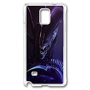 Alien Polycarbonate Hard Case Cover for samsung note 4 Transparent by ruishernameMaris's Diary