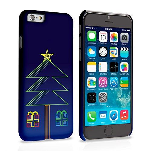 Caseflex iPhone 6 Plus / 6S Plus Hülle Tannenbaum Und Geschenke Hart Schutzhülle (Kompatibel Mit iPhone 6 Plus / 6S Plus - 5.5 Zoll)