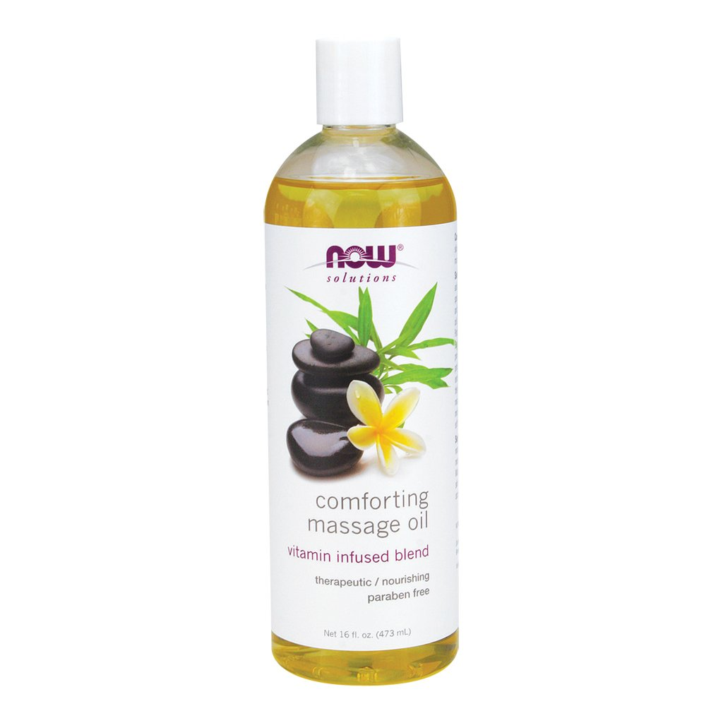 Now Foods Comforting Massage Oil - 16 oz. 3 Pack