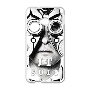 JT Suit Tie Fashion Comstom Plastic case cover For HTC One M7