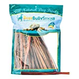 12 Inch Standard Odor-Free Bully Sticks by Best Bully Sticks(50 Pack)