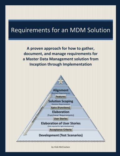 Requirements For An Mdm Solution  A Proven Approach For How To Gather  Document  And Manage Requirements For A Master Data Management Solution From Inception Through Implementation