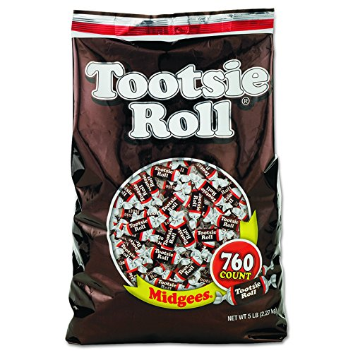 Tootsie Roll 884580 Midgees, Original, 5 lb Bag -