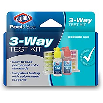 Taylor basic residential dpd pool and spa water test kit k 1001 swimming pool for Swimming pool test kits amazon