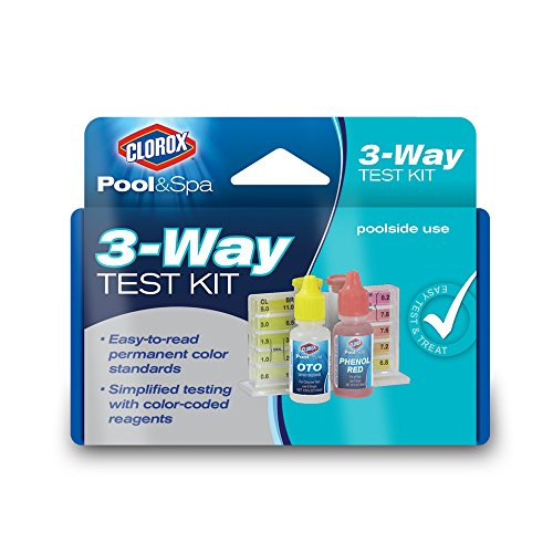 Swimming Pool Test Kits (Clorox Pool&Spa 70000CLX 3-Way Test Kit)