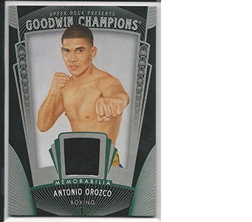 Boxing Boxing 2015 Upper Deck Goodwin Champions #M-AO Antonio Orozco #M-AO NM MEM from 2012 Goodwin Champions