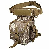 Multifunction Outdoor Sport Climbing Travel Leg Pack Military Tactical Leg Hiking Travel Bags Camping