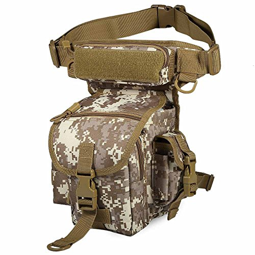Multifunction Outdoor Sport Climbing Travel Leg Pack Military Tactical Leg Hiking Travel Bags Camping by OutdoorCrazyShopping