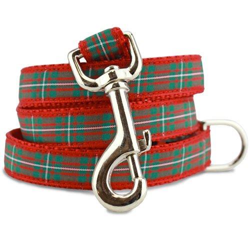 Plaid Holiday Dog Leash, Magreggor Tartan