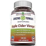 Amazing Nutrition Amazing Formulas Apple Cider Vinegar 500mg 120 Capsules