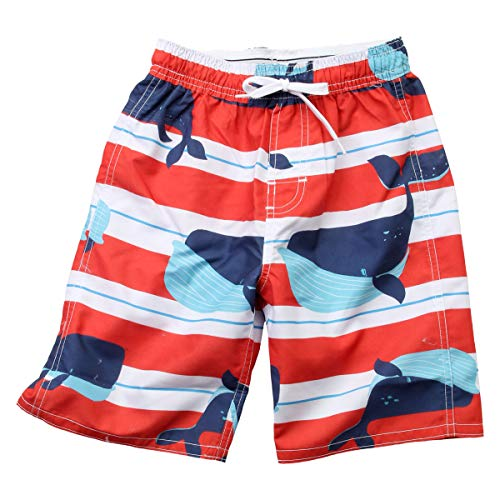 Wes and Willy Whale Stripe Swim ()