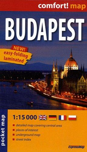 Budapest 1 : 15 000: ExpressMap (City Plans)