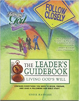 Living God's Will: Leaders Guide (Following God Discipleship Series)