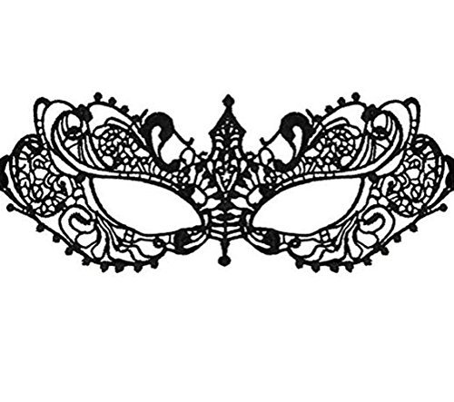 Zldoll Mask Sexy Lace Eye Mask for Women Masquerade Party Fashion Gift -
