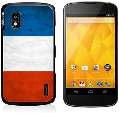 Bandera de Francia Google Nexus 4 Caso - Grunge para Nexus 4 ...
