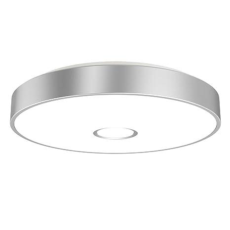 Onforu 32W LED Lámpara de Techo Salón, IP65 Impermeable LED Plafón 2800LM para Cocina Dormitorio Habitacion, Igual al 300W Luz Interior Techo, 5000K ...