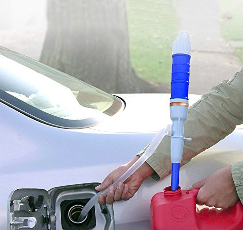Portable Liquid Transfer Pump by Battery-Operated for Gas, Water, Oil and Other Non-corrosive Liquids