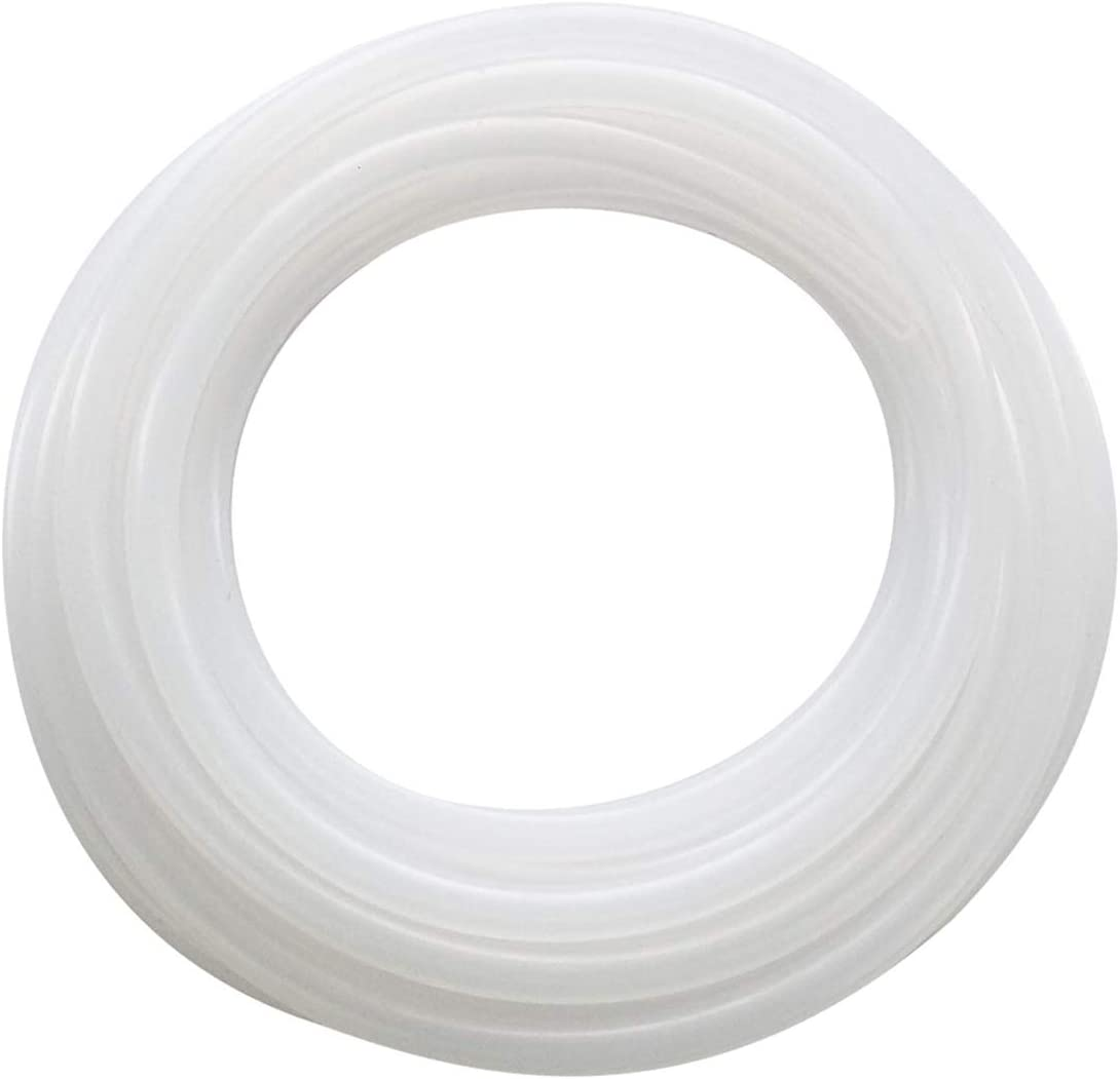NANSH Silicon Tubing Food Grade High Temp Pure Silicone Hose for Home Brewing,Beer Line, Kegerator,Aquaponics,Air Hose,Drinking Water Pump (5/16