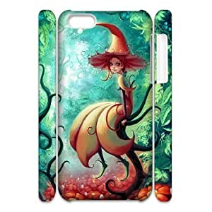 QNMLGB Hard Plastic of Fairy Cover Phone Case For Iphone 4/4s [Pattern-1]