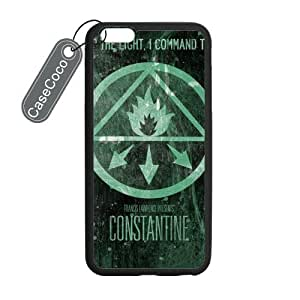 CASECOCO(TM) iPhone 6 Plus Case, US TV Series Constantine Case for iPhone 6 Plus (5.5-inch) - Protective Hard Back / Black Rubber Sides by mcsharks