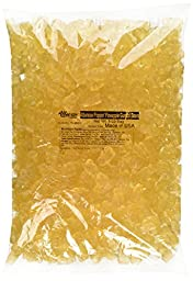 White Pineapple Gummi Gummy Bears Candy 5 Pound Bag (Bulk)
