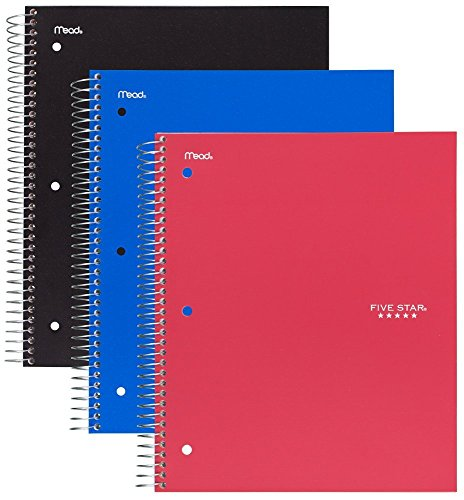 Top 10 recommendation notebooks five star 3 subject 2019