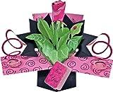 1 X Pop up Rose Greeting Card