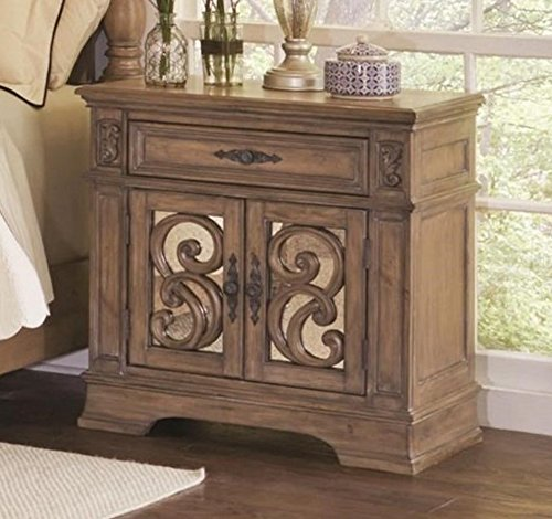 """Coaster 205077-CO Ilana Collection 30"""" Nightstand with 1 Dra"""