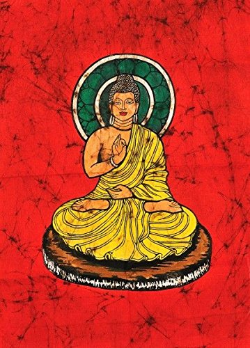 gautam buddha batik painting amazon co uk kitchen home