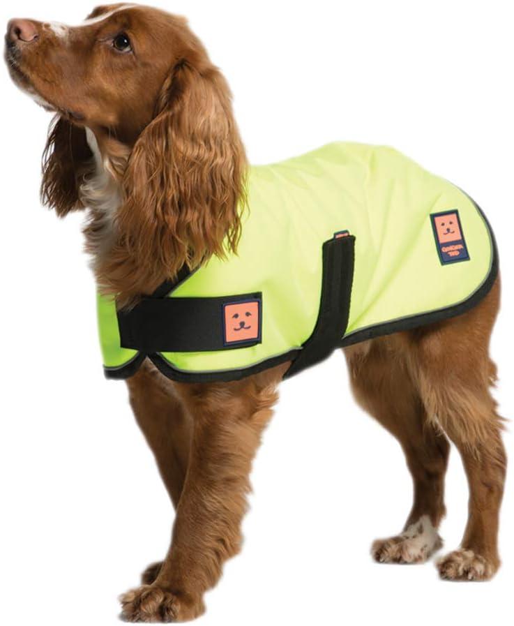 Ginger Ted Shower Waterproof Dog Coat Medium size 14inch 36cm Black