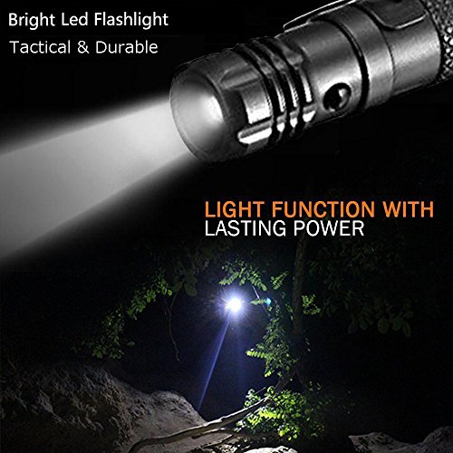 Tactical Pen Self Defense Tool for Survival Military Police Grade Badass EDC - Tactical Flashlight + Glass Breaker + Ballpoint Pen + Multi Tool - 2 Ink Cartridges + 3 Batteries - Gift Boxed by 2cl direct (Image #6)