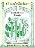 Bean - Pole - Filet Emerite Seeds