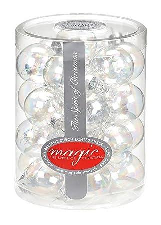 Christbaumkugeln Glas Transparent.28 Christbaumkugeln Glas 3cm Weihnachtskugeln Baumkugeln Baumschmuck Christbaumschmuck Weihnachtsdeko Kugeln Glaskugeln Spiegelbeeren Dose Farbe