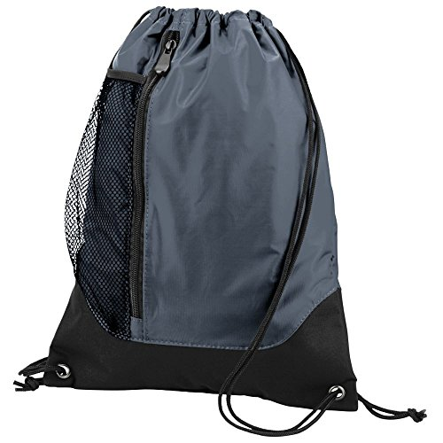 Augusta Sportswear TRES Drawstring Backpack OS Graphite/Black