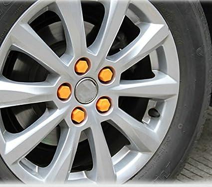 protezione antipolvere e antiruggine 17/mm 19/mm 21/mm Set di 20/tappi decorativi per dado ruota auto