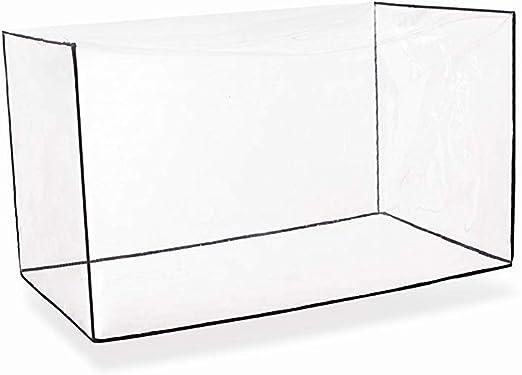 HANSHI cobertores rectangulares para Mesa de jardín, Fundas Impermeables para Muebles de jardín, Fundas para Muebles de Exterior, Fundas para Muebles de Patio HZC182-C: Amazon.es: Jardín