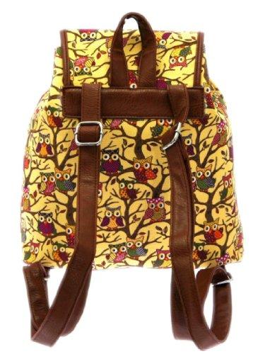 Beige Mochila 13 Mujer Inches W Handbags H w h d Girly 12 33 31 D 12 5 Albaricoque Cm w5xAYtgq