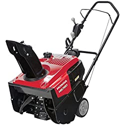 "Honda Power Equipment HS720AA 20"" 187cc Single-Stage Snow Blower with Dual Chute Control"