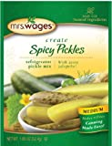 Mrs. Wages Refrigerator Medium Spicy Pickle Mix (VALUE Case of SIX 1.85oz Packets)