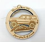 Automotive : XJ Cherokee Jeep-mas holiday ornament , proceeds benefit Project Bundle-Up
