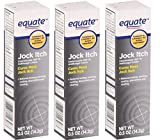 Equate Jock Itch Antifungal Cream, 0.5 Oz, Pack of 3